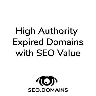High Authority Expired Domains with SEO value
